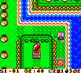 Screenshot Thumbnail / Media File 1 for Bomberman Max - Blue Champion (USA)