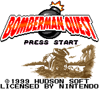 Screenshot Thumbnail / Media File 1 for Bomberman Quest (USA)