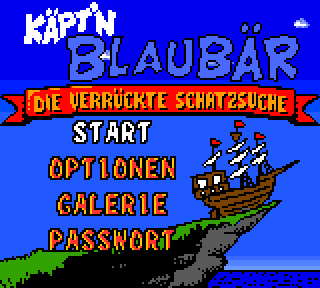 Screenshot Thumbnail / Media File 1 for Kaept'n Blaubaer - Die verrueckte Schatzsuche (Germany)