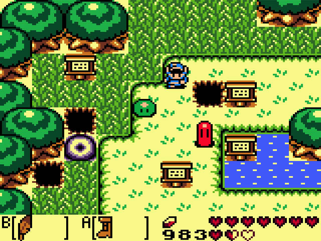 Image result for legend of zelda dx gbc gameplay