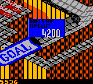 Screenshot Thumbnail / Media File 1 for Marble Madness (USA)