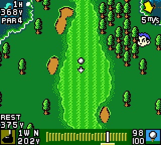 Screenshot Thumbnail / Media File 1 for Mobile Golf (Japan)