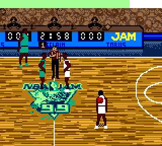 Screenshot Thumbnail / Media File 1 for NBA Jam '99 (USA, Europe)