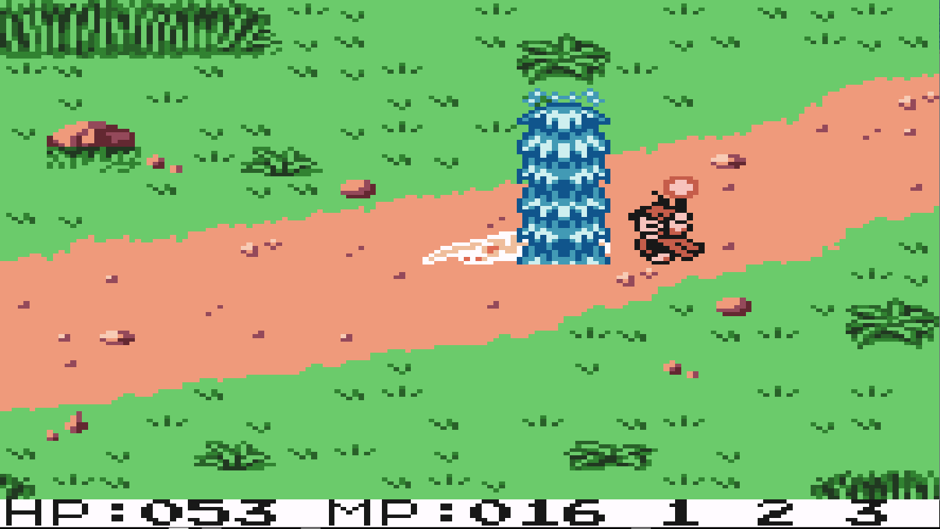 game rpg gameboy color : Screenshot Thumbnail Media File 3 For Quest Rpg Brian S Journey Usa