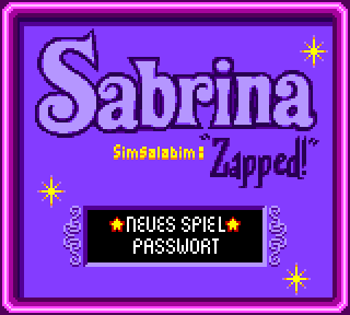 Screenshot Thumbnail / Media File 1 for Sabrina - The Animated Series - Zapped! (Europe) (En,Fr,De)