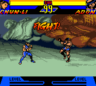 Screenshot Thumbnail / Media File 1 for Street Fighter Alpha - Warriors' Dreams (USA)