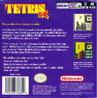 Screenshot Thumbnail / Media File 1 for Tetris DX (World)