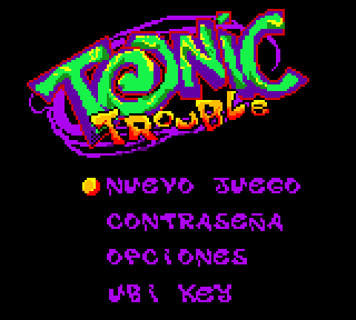 Screenshot Thumbnail / Media File 1 for Tonic Trouble (Europe) (En,Fr,De,Es,It,Nl)