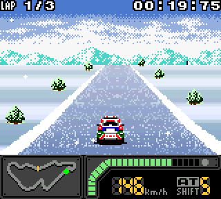 Screenshot Thumbnail / Media File 1 for Top Gear Pocket 2 (Japan)