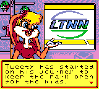 Screenshot Thumbnail / Media File 1 for Tweety's High-Flying Adventure (Europe) (En,Fr,De)