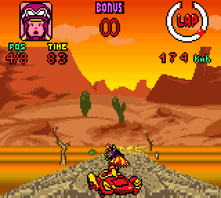 Screenshot Thumbnail / Media File 1 for Wacky Races (Europe) (En,Fr,De,Es,It,Nl)