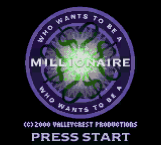Screenshot Thumbnail / Media File 1 for Who Wants to Be a Millionaire - 2nd Edition (USA)
