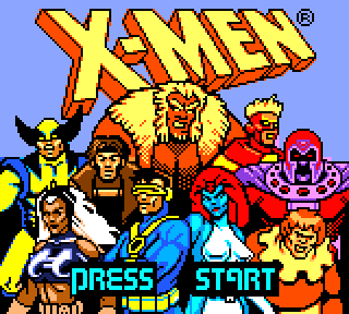 Screenshot Thumbnail / Media File 1 for X-Men - Mutant Academy (Japan)