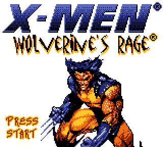 Screenshot Thumbnail / Media File 1 for X-Men - Wolverine's Rage (USA)
