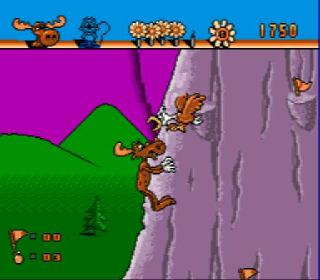 Screenshot Thumbnail / Media File 1 for Adventures of Rocky and Bullwinkle, The (USA)
