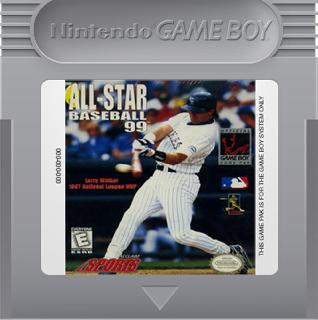 Screenshot Thumbnail / Media File 1 for All-Star Baseball '99 (USA)