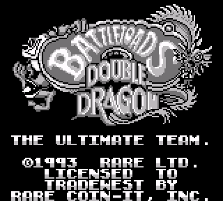 Screenshot Thumbnail / Media File 1 for Battletoads Double Dragon - The Ultimate Team (Europe)