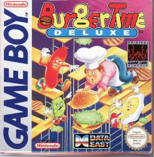 Screenshot Thumbnail / Media File 1 for Burger Time Deluxe (World)