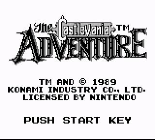 Screenshot Thumbnail / Media File 1 for Castlevania Adventure, The (USA)