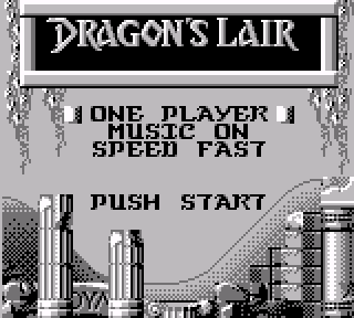 Screenshot Thumbnail / Media File 1 for Dragon's Lair (Japan)