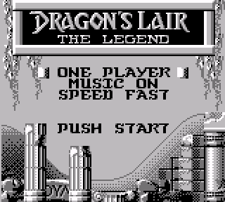 Screenshot Thumbnail / Media File 1 for Dragon's Lair - The Legend (Europe)