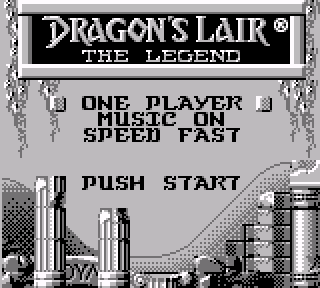 Screenshot Thumbnail / Media File 1 for Dragon's Lair - The Legend (USA)