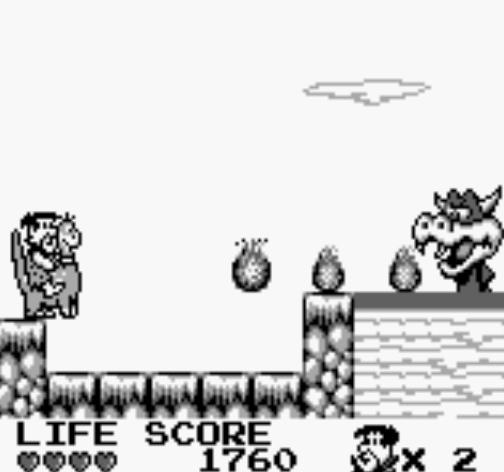 Resultado de imagen de the flintstones king rock treasure island game boy
