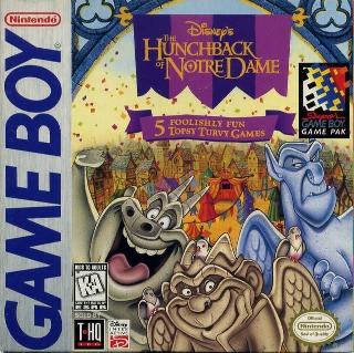 Screenshot Thumbnail / Media File 1 for Hunchback of Notre Dame, The - Topsy Turvy Games (USA, Europe)