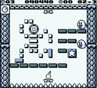 Screenshot Thumbnail / Media File 1 for Kirby's Block Ball (USA, Europe)