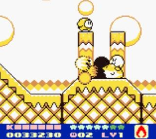 Screenshot Thumbnail / Media File 1 for Kirby's Dream Land 2 (USA, Europe)