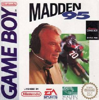 Screenshot Thumbnail / Media File 1 for Madden '95 (USA, Europe)