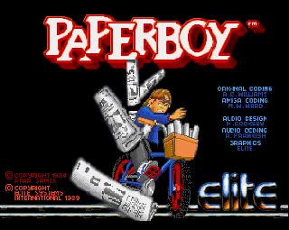 Screenshot Thumbnail / Media File 1 for Paperboy