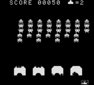 Screenshot Thumbnail / Media File 1 for Space Invaders (USA)