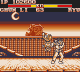 Screenshot Thumbnail / Media File 1 for Street Fighter II (USA, Europe) (Rev A)