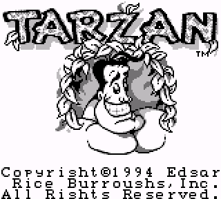 Screenshot Thumbnail / Media File 1 for Tarzan (USA, Europe)