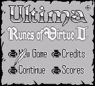 Screenshot Thumbnail / Media File 1 for Ultima - Runes of Virtue II (USA)