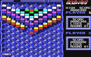 Screenshot Thumbnail / Media File 1 for Arkanoid (E)