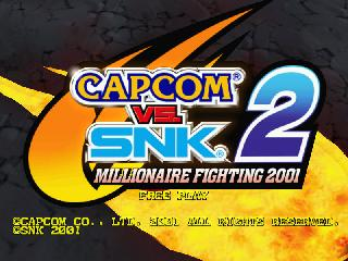 Screenshot Thumbnail / Media File 1 for capcom_vs_snk_2