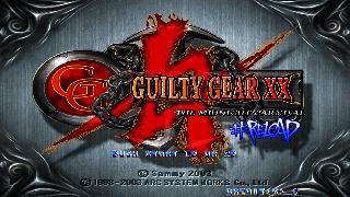 Screenshot Thumbnail / Media File 1 for guilty_gear_xx_reload