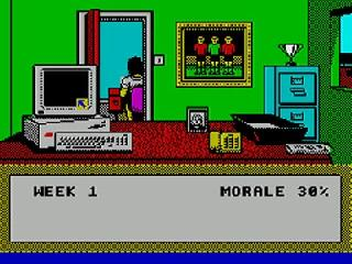 Screenshot Thumbnail / Media File 1 for 1st Division Manager (1991)(Codemasters)
