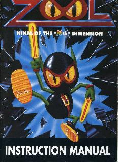 Screenshot Thumbnail / Media File 1 for Zool - Ninja of the Nth Dimension