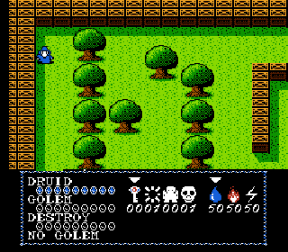 Screenshot Thumbnail / Media File 1 for Druid - Kyoufu no Tobira (Japan)