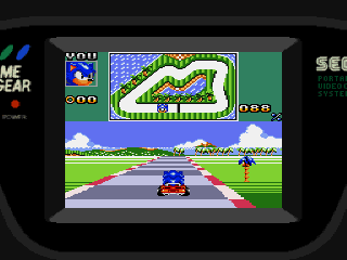 Screenshot Thumbnail / Media File 1 for Sonic Drift 2 (Japan)