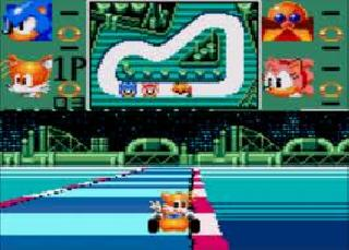 Screenshot Thumbnail / Media File 1 for Sonic Drift (Japan) (Sample)