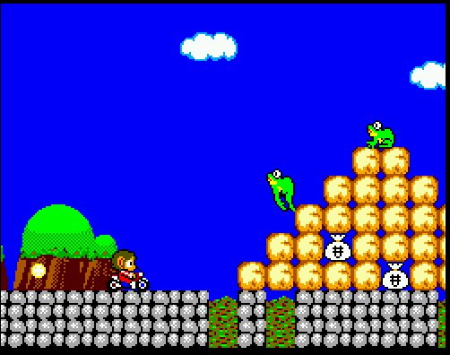 alex kidd in miracle world master system