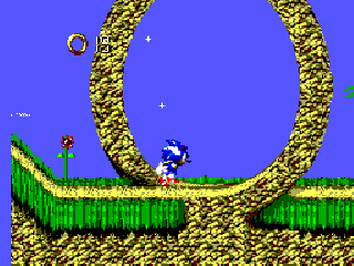 Screenshot Thumbnail / Media File 1 for Sonic Blast (Brazil)