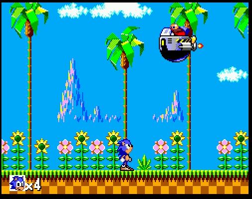 Image result for sonic the hedgehog sega master system