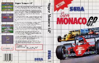 Screenshot Thumbnail / Media File 1 for Super Monaco GP (Europe)