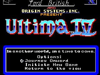 Screenshot Thumbnail / Media File 1 for Ultima IV - Quest of the Avatar (Europe) (Beta)