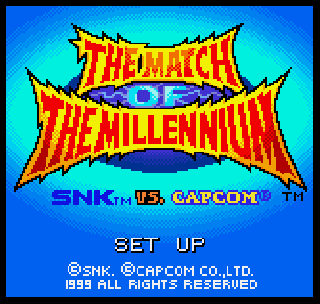 Screenshot Thumbnail / Media File 1 for SNK Vs Capcom - Match of The Millennium